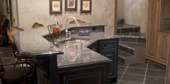 kitchen quartz granite counter
